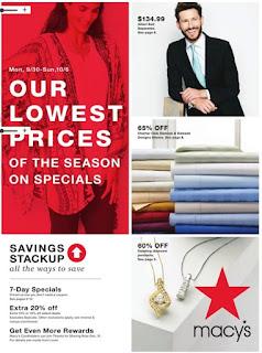 ✅ Macys Weekly Ad ⭐ Macys Ad 9/30/19 ❤ Macys Weekly Ad September 30 2019