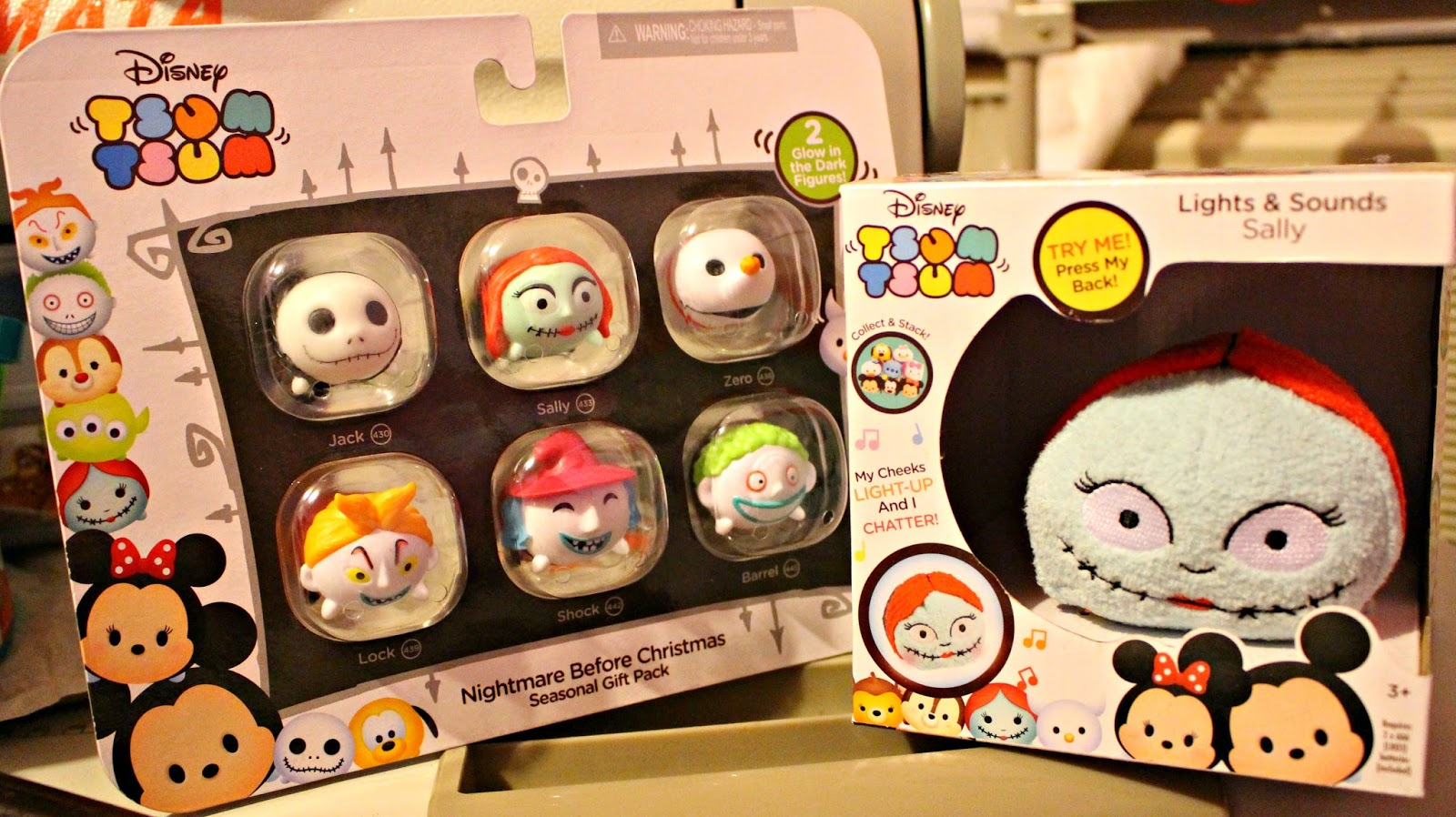 DAY 3 + 4: Nightmare Before Christmas Tsum Tsums! #12DaysOfGiveaway ...