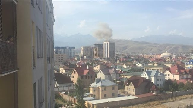 Several dead, injured as blast hits near China Embassy in Kyrgyzstan
