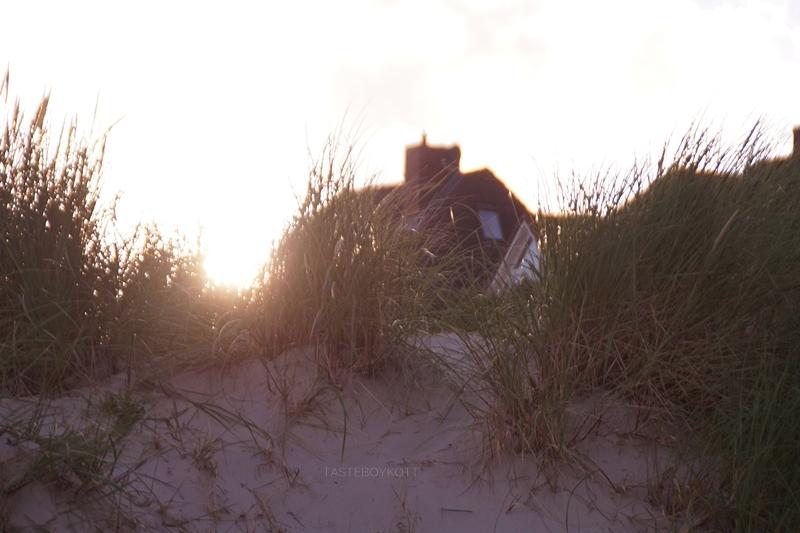 Amrum Wittdün Strand Sonnenuntergang Düne
