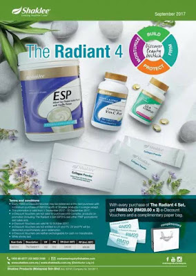 The Radiant 4 Shaklee