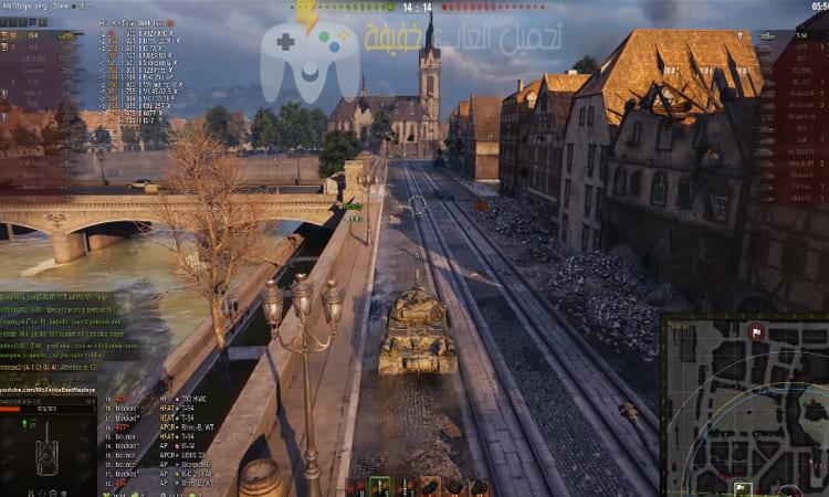 تحميل لعبة World of tanks للكمبيوتر برابط مباشر