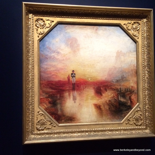 War. The Exile and the Rock Limpet, 1842; Turner exhibit at de Young Museum in San Francisco