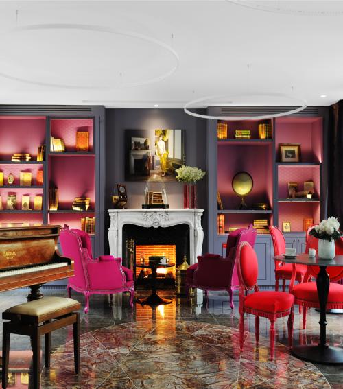 bar chic chic in paris hotel la belle juliette. Black Bedroom Furniture Sets. Home Design Ideas