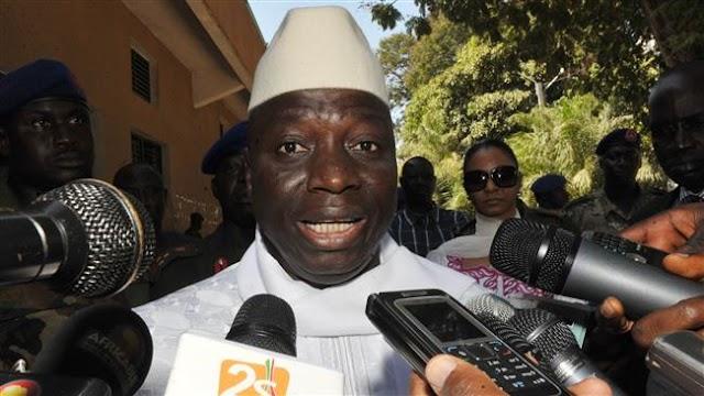 Gambian President Yahya Jammeh accuses ECOWAS of declaring war