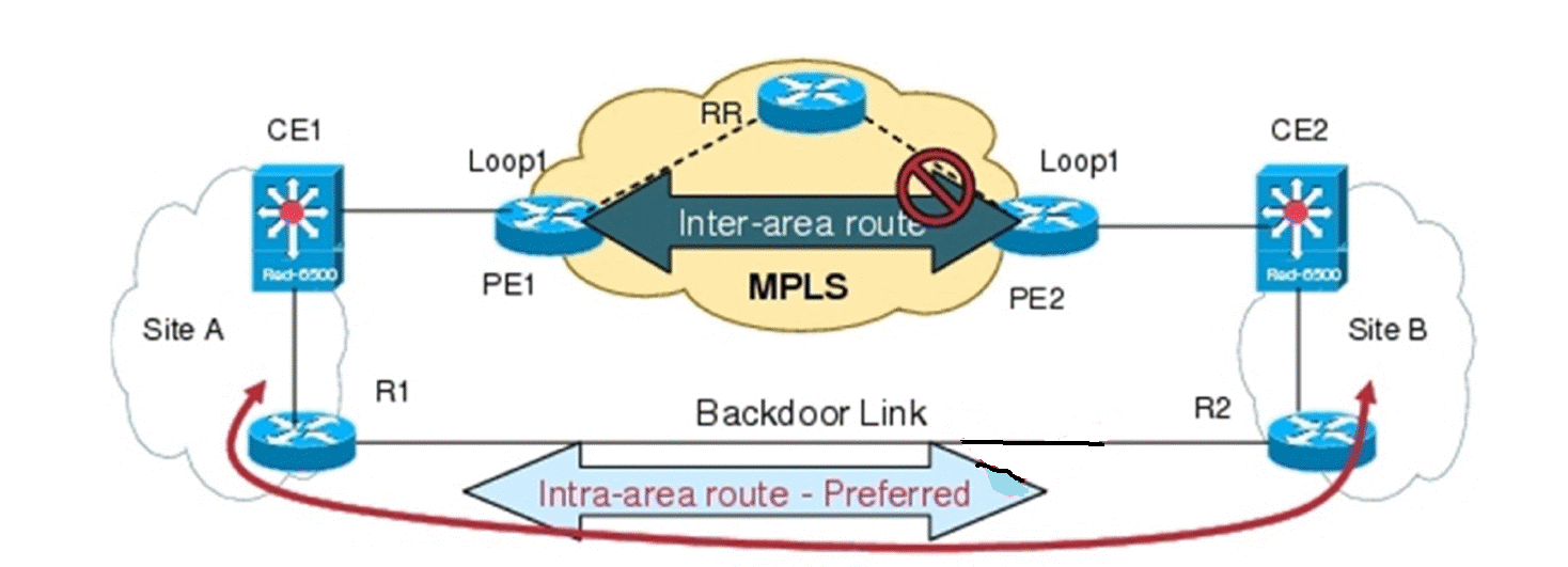 What Is OSPF Sham Links? How To Configure OSPF Sham Links?