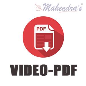 Video- PDFs: 14-09-18