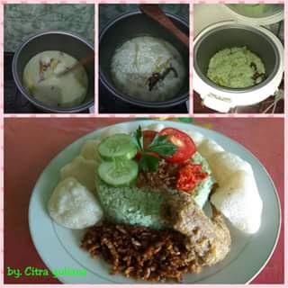 resep nasi uduk hijau