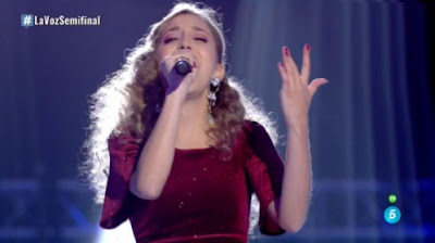 Elena: My Heart Will Go On. Semifinal La Voz 2017