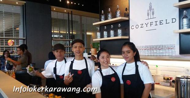 Lowongan Kerja Cozyfield Cafe & Resto Karawang