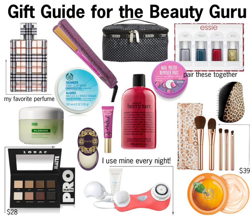 gift guide for the beauty guru