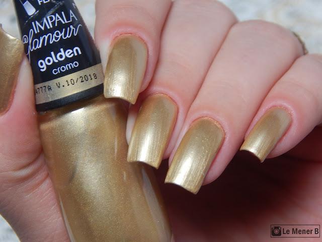 coleção glamour esmalte golden