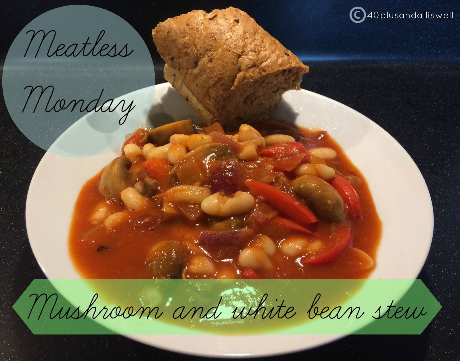 40 Plus and All is Well: Meatless Monday : Mushroom and ...
