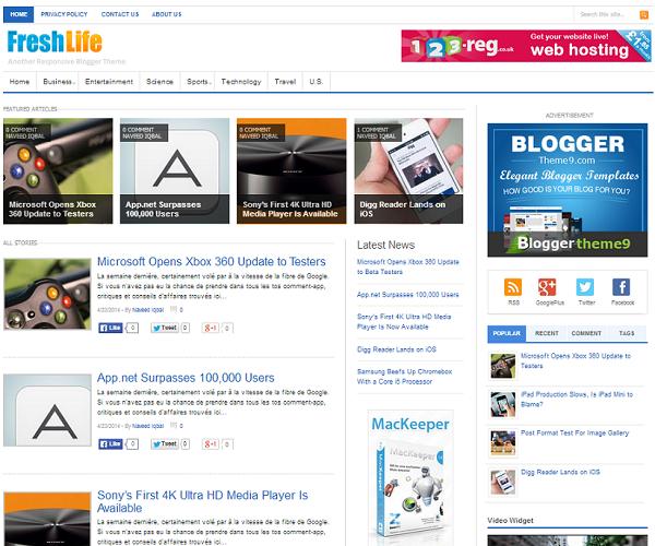 blogger themes