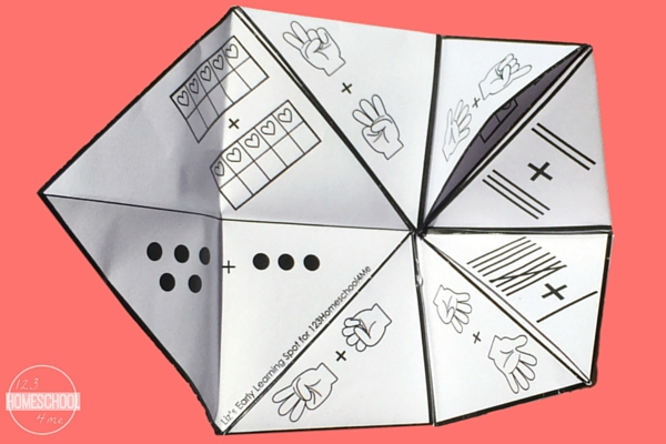 Cootie Catchers Math Games