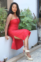 Mamatha sizzles in red Gown at Katrina Karina Madhyalo Kamal Haasan movie Launch event 028.JPG