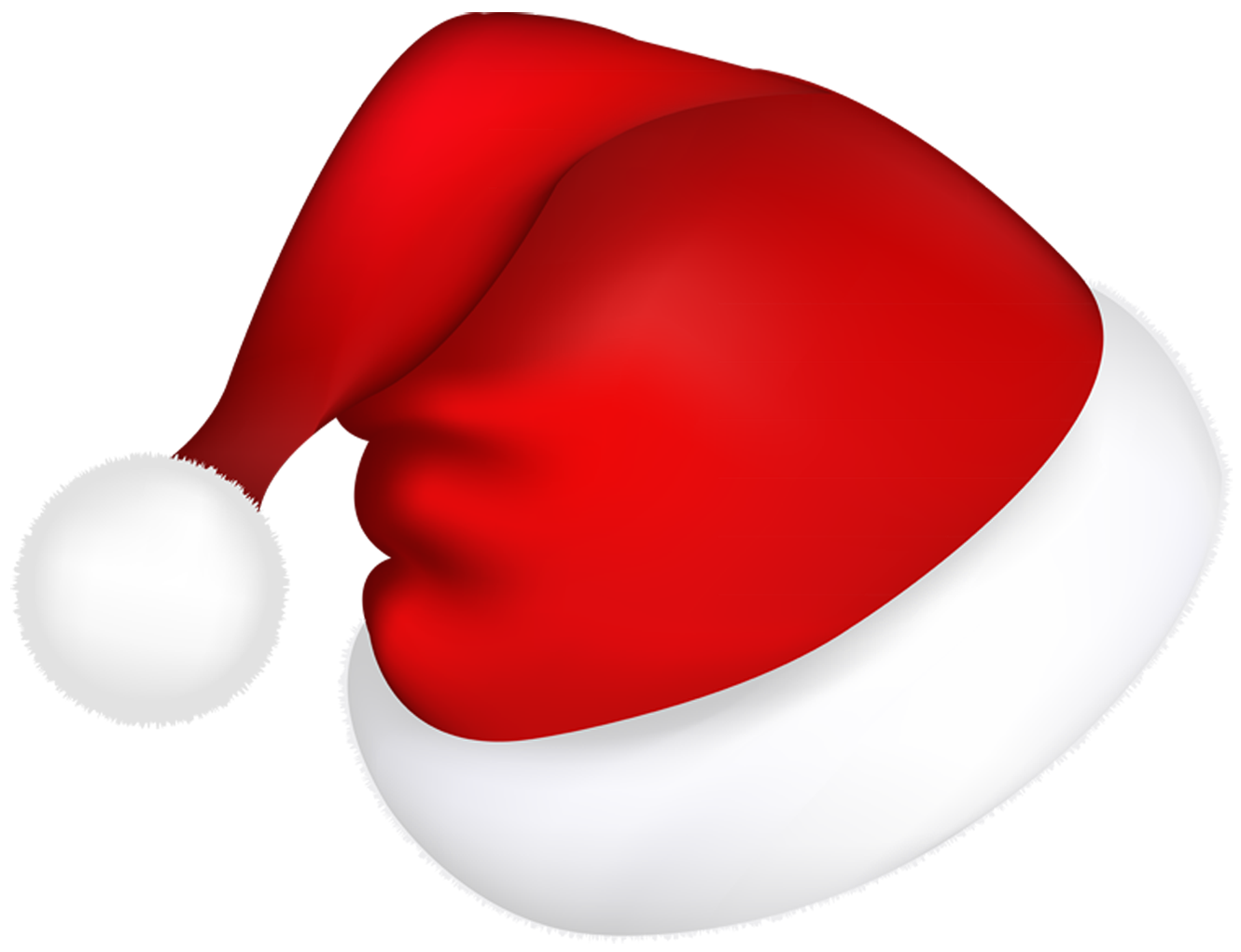 santa hat clipart with transparent background - photo #9
