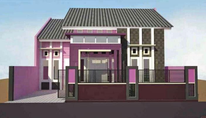 Cat Rumah Warna Kelabu Desainrumahid