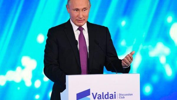 Putin: EE.UU. prevé expulsar a Rusia de mercado energético europeo