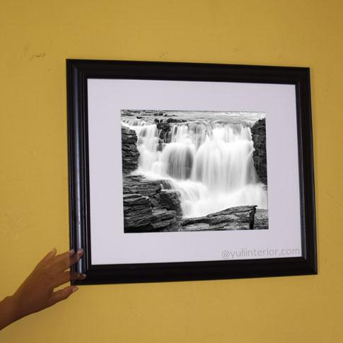 Buy Monochrome Waterfalls, Wall Art, Wall Frame in Port Harcourt, Nigeria
