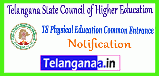 TS PECET Telangana State Council of Higher Education 2019 Notification Application