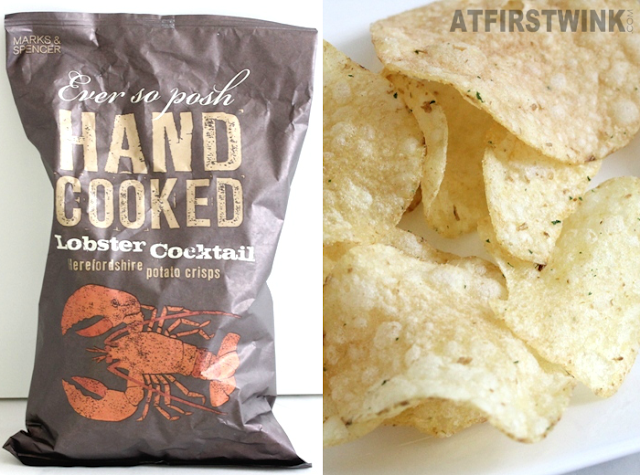 Marks and Spencer hand cooked lobster cocktail herefordshire potato crisps