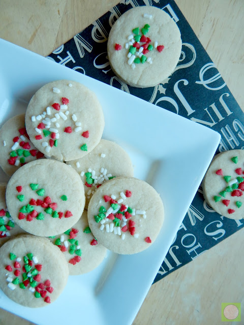 christmas shortbread just four ingredients (sweetandsavoryfood.com)