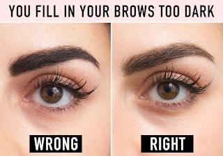 Hasil gambar untuk eyebrow pencil look