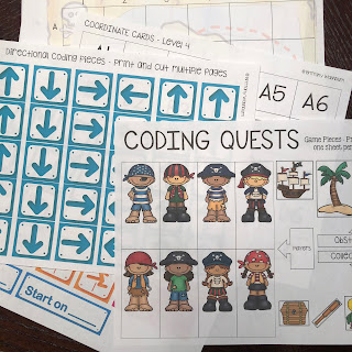 Bring hands on learning into your computer science and technology education with Coding Quests board games!