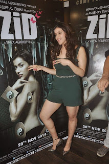 Priyanka Chopra's cousin Barbie Handa and her team at 'Zid' Interviews
