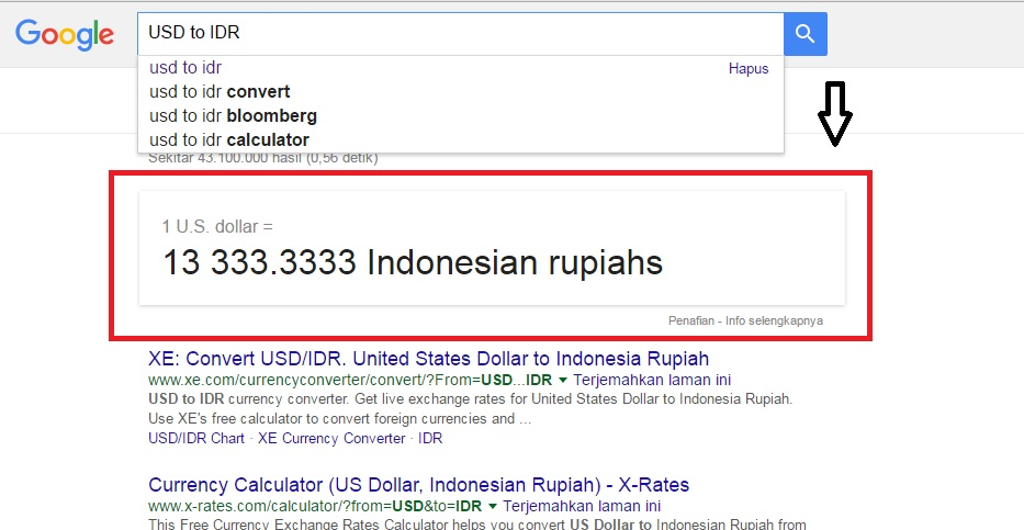 XE Convert USDIDR United States Dollar to Indon Convert