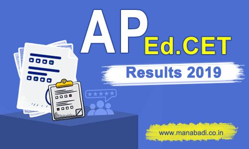 AP Edcet Results 2019