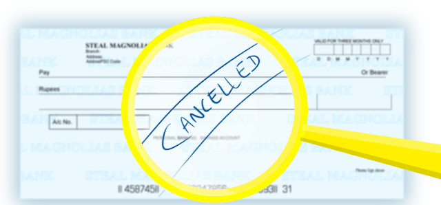 You Should Know What Is A Cancelled Cheque?
