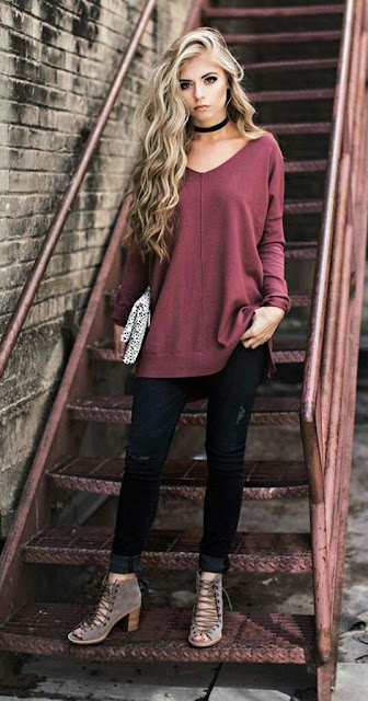 Sweat-shirt-with-skinny-jeans