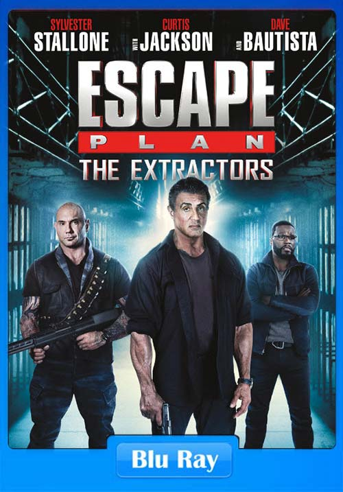 Escape Plan The Extractors 2019 720p BluRay x264 | 480p 300MB | 100MB HEVC Poster