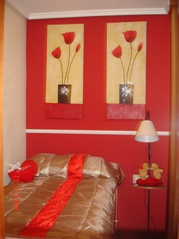 Decoracion actual de moda casas pintadas de rojo - Decoracion actual de moda ...