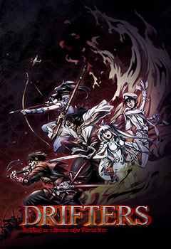 Drifters episode  12  subbed