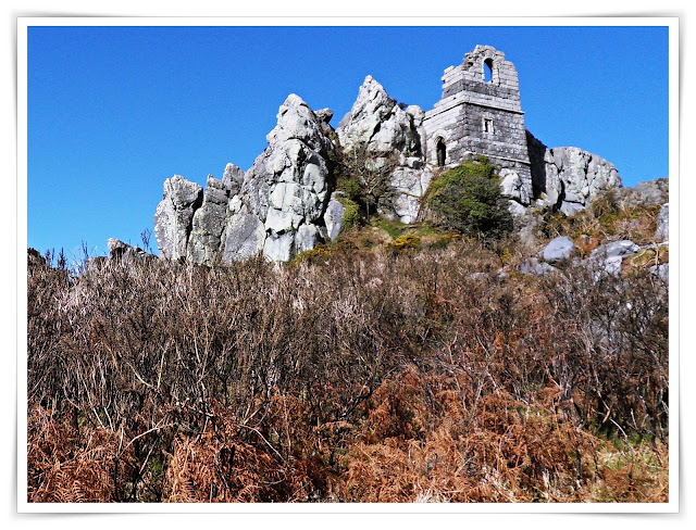 The mysterious Roche Rock, Cornwall