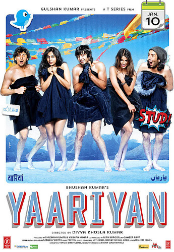 Poster of Yaariyan 2014 Full Movie Hindi 1080p BluRay With ESubs Download