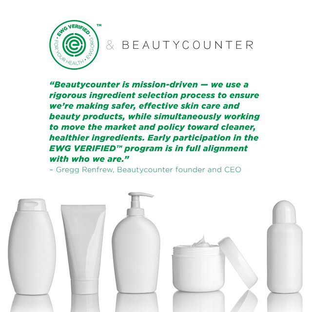 Beautycounter is on EWG. Ranked high for safety. http://www.beautycounter.com/leighhines/#