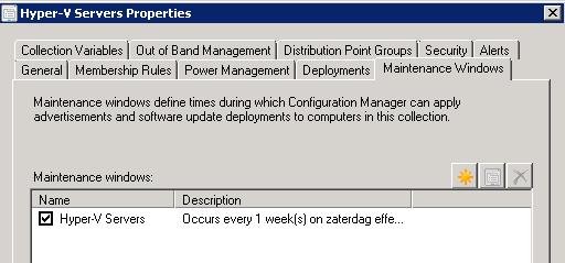 Henk's blog: Using Maintenance Windows in ConfigMgr 2012