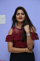 Pavani Gangireddy in Cute Black Skirt Maroon Top at 9 Movie Teaser Launch 5th May 2017  Exclusive 075.JPG