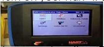 Select HART option
