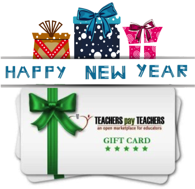 Teacher Times Two: New Year Wishes $100 Giveaway
