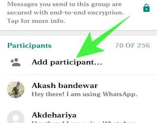 Whatsapp group chat invite kaise kare 2