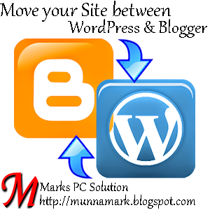 Move your site between WordPress and Blogger