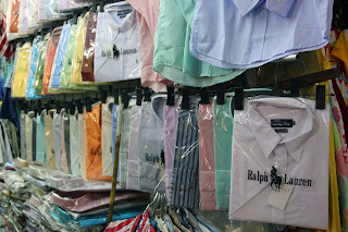 Counterfeit clothing Ben Thanh Market