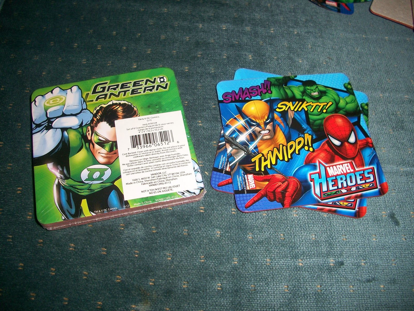 The original paperboard coasters