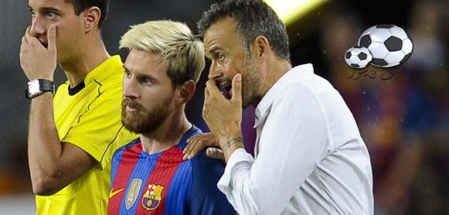 نادى برشلونة الأسبانى يساند لاعبه البرغوث أمام الأسطورة الأرجنتينية دييغو أرماندو فى تصريحاته عنه