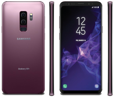Samsung galaxy s9 at MWC 2018